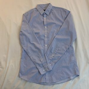 H&M easy iron dress shirt SIZE MEDIUM